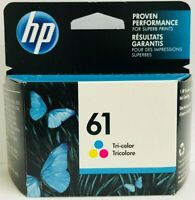 New Genuine HP 61 Color Ink Cartridge Envy 4501 4507 5532 Exp 2021