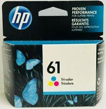 New Genuine HP 61 Color Ink Cartridge Envy 4501 4507 5532 Exp 2021
