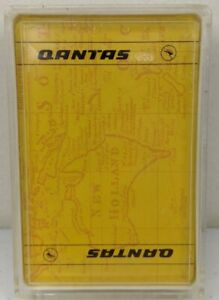 Qantas New Holland Map Playing Cards New & Sealed With Case