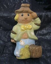 Wonderful ceramic figurine of a scarecrow naive design but cute approx 8ins tall