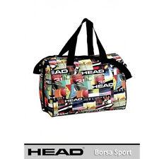 Bolsa ocio/sport HEAD fantasía multicolor bandolera+manijas 30x25x40 cm