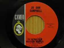 Jo Ann Campbell 45 Girl From Wolverton Mountain bw Sloppy Joe on Cameo teen