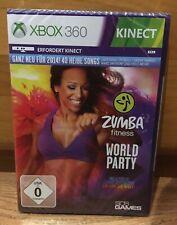 Video Game Xbox 360 Zumba Fitness World Party (Kinect) NEU, OVP, unbenutzt
