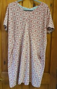 White Stuff Dress. Size 16. Red, Blue