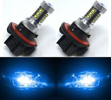 LED 80W 9008 H13 Blue 10000K Two Bulbs Head Light Replace Lamp Off Road DRL