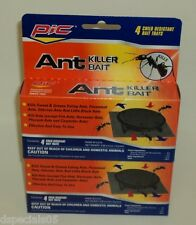 PIC ANT Killer Sweet/Grease Eating/Pavement/Odorous/Little Blk Ants 8 Bait Trays