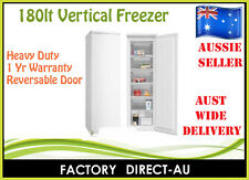 BRAND NEW 180LT UPRIGHT VERTICAL FREEZER RRP$990 *ON SPECIAL 20 UNITS ONLY*
