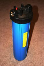 """Big Blue 20"""" Whole House Water Filter System with Pressure Release (3/4"""" Port)"""
