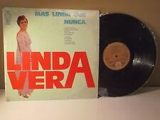 """Linda Vera """"Mas linda que nunca"""" Ay amor ingrato""""  LP VG+ HARMONY/HLS8932"""