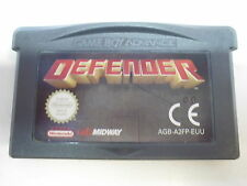 Nintendo Game Boy Advance GBA Defender