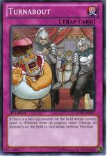 REDU-EN075 YuGiOh! Trap Card TURNABOUT Return of the Duelist 1st Edition MINT/NM
