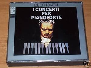 TRIPLO CD-BEETHOVEN-I CONCERTI PER PIANOFORTE-SERKIN