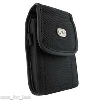 Heavy Duty Rugged Case Protective Cover Holster Side Clip w Belt Loop - Vertical