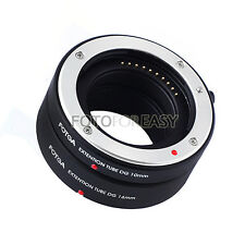 Auto ENFOCADO Macro ALARGADOR TUBO SET para Fujifilm Fuji x-e2 x-m1 X-Pro1 FX