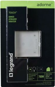 Legrand Adorne White 700W Wi-Fi Ready Touch Dimmer - ADTH700RMTUW1