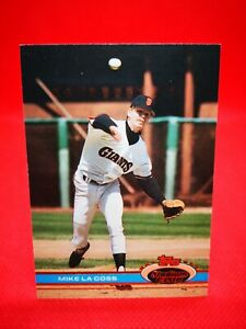 Topps 1979 carte card Baseball MLB NM+/M San Francisco Giants #479 Mike Lacoss