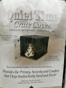Mid West Quiet Time Dog Pet Crate Cover Large 42L x 28W x 30H NEW