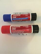 LOCTITE 268 And LOCTITE 248, Thread Locker, One Of Each, Quickstix