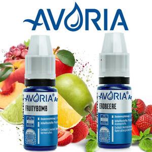 Liquid Aroma AVORIA Konzentrat Aromen ALLE SORTEN mischen e Liquid e Zigarette