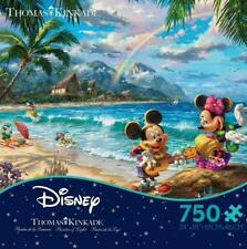 Thomas Kinkade Puzzle Mickey and Minnie In Hawaii 750 Piece Ceaco Puzzle