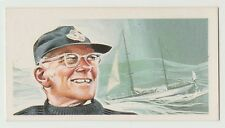 Original 1960s UK Trade Card - Round The World Yachtsman Sir Francis Chichester