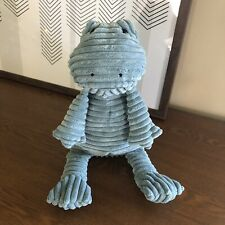"17"" Jellycat Cordy Roy Plush Blue green Frog Medium"