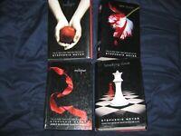 Twilight Saga BOOK series complete set lot 4 free shipping breaking dawn