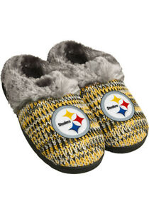 Pittsburgh Steelers NFL Women's Peak Slippers Size XL (11/12), New With Tags