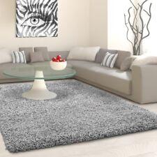 LIFE Teppich in versch Größen - hell grau Hochfloor Teppiche Läufer Wohnteppich