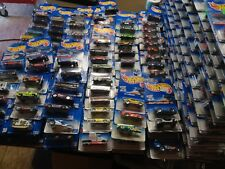 (10,000)+++ HOT WHEELS Blue Cards To Present & Treasure Hunts Included