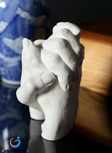 """Adult 3D Holding Hand Casting Kit """"Jumbo"""" 