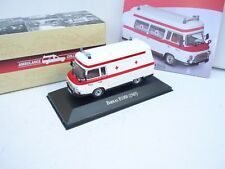 1:43 ATLAS AMBULANCE COLLECTION  BARKAS B 1000 (1965) AMBULANCE M BOX