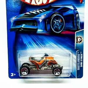 2004 Hot Wheels Wastelanders Sand Stinger Orange w Chrome 5sp Collector #200
