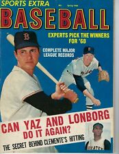 1968 Sports Extra baseball magazine Carl Yastrzemski, Boston Red Sox, Clemente