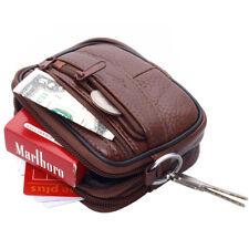Cigarette Case Leather Fanny Pack Bag Waist bag Bum Belt Hip Bag Wallet