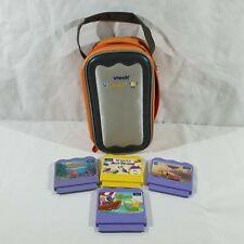 Vtech V. Smile X 3 Paquete De Juegos + Estuche, Finding Nemo, coches, Backyardigans..
