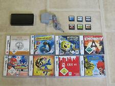 Nintendo 3DS 3 DS mit Zubehörpaket + 3 Gratis Spiele