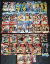 WWF Jakks 90s Wrestling Figure LOT wwe/wcw/ecw Brand New In Box Rubber
