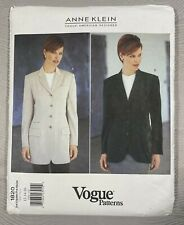 New ListingVogue Patterns Anne Klein Sewing Patterns #1820 (Sizes 12/14/16 - New)