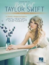 Taylor Swift - Beginning Piano Solo Updated Edition Book *NEW* Sheet Music Easy