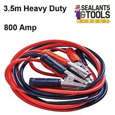 Heavy Duty 800amp Car Van Jump Leads 3.5 Metre Booster Cables Start
