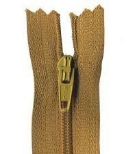 50cm Antique Brown Dress Zip