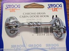 CABIN DOOR HOOK SEADOG 2220651 CHROME BOAT HARDWARE BOATINGMALL EBAY STORE PARTS
