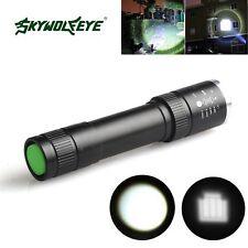 5000Lumen Zoomable LED XML T6 LED 18650 Flashlight Lotus Head Torch Lamp Light R