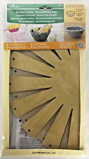 CLOVER Baskets Kit 2 Frames Round Extra Large With Instructions 8426