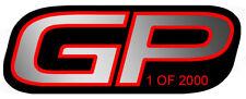 STICKER GP 1 OF 2000 4,5x2,5cm MINI COOPER JCW AUTOCOLLANT GA142