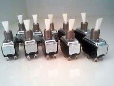 10 Toggle Switch UND LAB 2 POS On/Off 10A 250V 15A 125V AC 3/4HP 6 Pin Connector