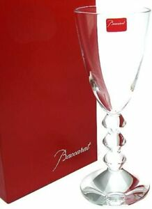 BACCARAT CRYSTAL VEGA NO. 4 GLASS #1365104 BRAND NIB CLEAR SAVE$$ F/SH
