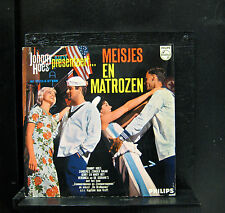 "Johnny Hoes - Meisjes En Matrozen 10"" LP VG+ P 600 680 Netherlands Vinyl Record"