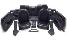 Original Audi A8 4H Innenausstattung Lederausstattung Leder schwarz Sitzheizung